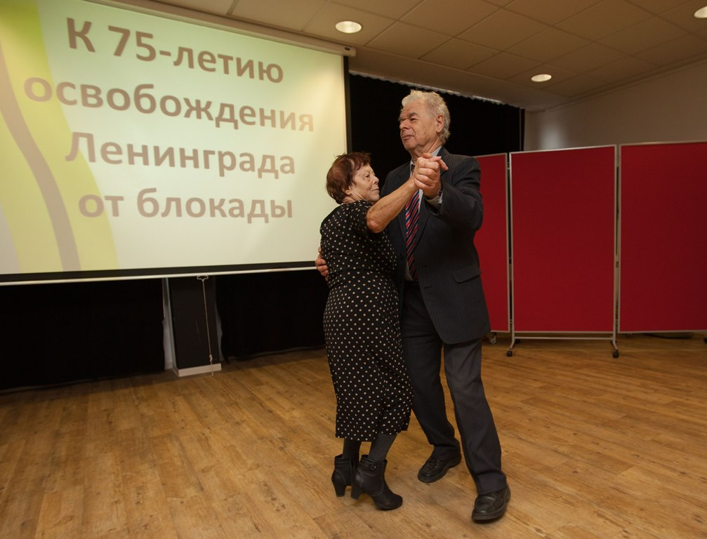 Мероприятие к 75-летию снятия блокады Ленинграда, январь 2019